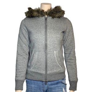 Aeropostale Women's Grey Jacket/Sweater